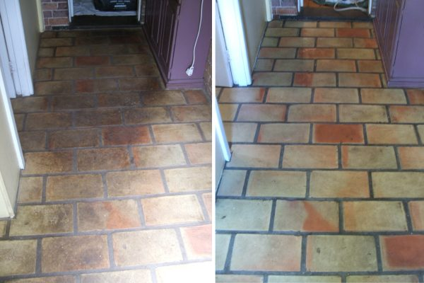Pavers Before And After Restoration